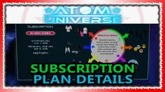 [Atom Universe ] [Video](Optional) Subscription Plan Pricing #Playstation4 #PS4 #Sony #videogames #playstation #gamer #games #gaming