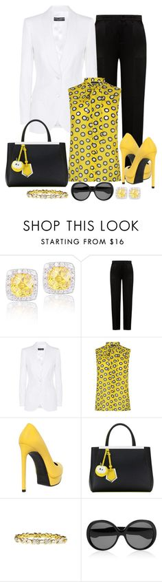 """""""Untitled #1311"""" by gallant81 ❤ liked on Polyvore featuring Icz Stonez, Alberta Ferretti, Dolce&Gabbana, Boutique Moschino, Yves Saint Laurent, Fendi and BillyTheTree"""