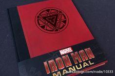 Mundo da Leitura e do entretenimento faz com que possamos crescer intelectual!!!: Conheça o Iron Man Manual, livro sobre os filmes d...