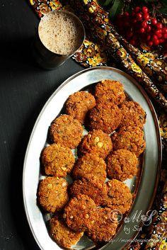 Chattambade Recipe | Spicy Chana Dal Vada Recipe - Gluten Free (check if hing/asafoetida is gluten free, if not, omit), Vegan