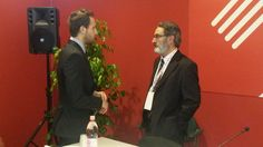Enrico Perego after the #workshop on #food sector in #ASEAN at CIBUS Fair 2014