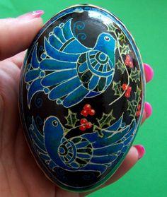 ukrainian eggs | these ukrainian eggs make beautiful unique christmas tree ornaments ...