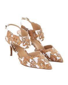 NICHOLAS KIRKWOOD LASER-CUT CORK LEDA PUMP | Buy ➜ http://shoespost.com/nicholas-kirkwood-laser-cut-cork-leda-pump/