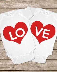 Twice Love Twinsie Set Onesie Twin Twins Onesies Baby Gifts Set Matching Outfits Girls Boys Shirt Twin Baby Girls, Twin Babies, Cute Babies, Twins, Twin Outfits, Kids Outfits, Matching Outfits, Baby Gift Sets, Baby Gifts