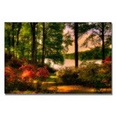 Found it at Wayfair - 'A Walk in the Park' by Lois Bryan Photographic Print on Canvas