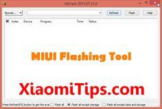 miui flashing tool miphone