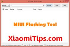 miui flashing tool miphone