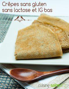 Crêpes sans gluten sans lactose et IG bas à découvrir sur https://cuisine-saine.fr/recette-sans-gluten-ni-lait/crepes-gluten-lactose-ig-bas/  via @karenchevallier