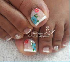 Toe Nails, Nail Art Designs, Beauty, Finger Nails, Pretty Toe Nails, Simple Toe Nails, Toe Nail Art, Polish Nails, Feet Nails