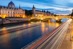 Seine Riverside with The Conciergerie in Paris by Loïc Lagarde on 500px