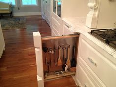 The Kitchen                         Cooktop Wall w/ mural                        China cabinet wall:                            Island     ...