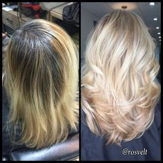 COLOR CORRECTION: From Grown Out Blonde To Dimensional Pale Wheat | Modern Salon