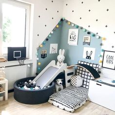 Childrens Room Home Decoration Small Room Wall Painting Home Design Little Girls DIY Home StorageTable setting Home Furniture Childrens Bed Display Pillow Childrens Bed W. Baby Bedroom, Baby Boy Rooms, Baby Room Decor, Nursery Room, Room Baby, Baby Boy Bedroom Ideas, Toddler Boy Room Ideas, Kids Bedroom Ideas, Dark Nursery