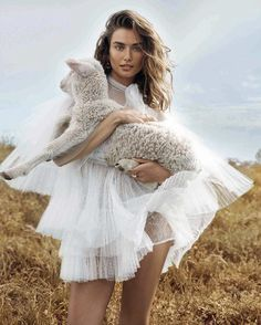 Andreea Diaconu by Benny Horne for Vogue Spain October 2015   The Fashionography