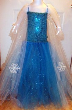 Queen From Frozen Elsa Dress | Queen Elsa, from Frozen, tutu dress costume
