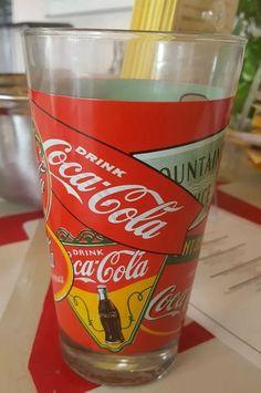 RARE COLLECTIBLE COCA COLA GLASS TUMBLER ADVERTISING 16 oz.  | eBay