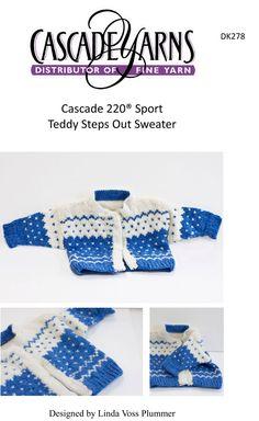 Teddy Steps Out Sweater in Cascade 220 Sport - DK278...free pattern