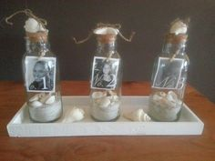 Foto in een action flesje Love You Mum, Diy Presents, Diy Home Decor, Homemade, Action, Bottle, How To Make, Gifts, Nice