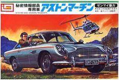 imia james bond resin model | Aston Martin James Bond by IMAI. Holland Plastic Model Kits