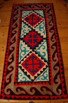 felt rugs | Contemporary Rugs: Shyrdak Felt Rugs