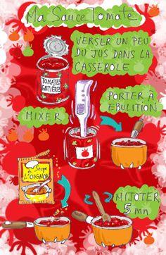 Tambouille» sauce tomate