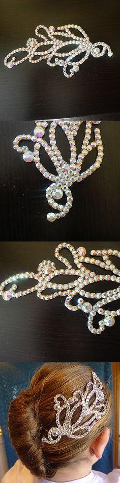 Ballroom 152361: Ballroom Dance Hair Adornment - Swarovski -> BUY IT NOW ONLY: $35 on eBay!