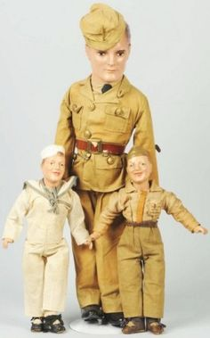 Military Composition Man Dolls