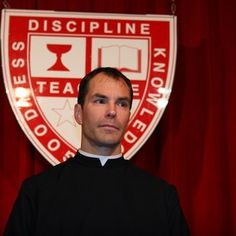 Fr. Patrick Fulton, CSB begins fifth year as #STH principal. Any questions?
