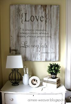 Wood signs!----a Simply Said project inspiration