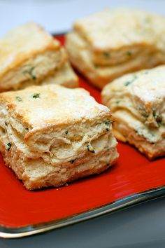 Garlic and Parsley Buttermilk Biscuits