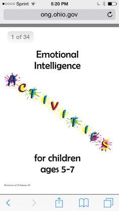 Emotional intelligence activities for year olds Social Emotional Activities, Emotions Activities, Counseling Activities, Emotional Regulation, Emotional Development, Coping Skills, Social Skills, Activities For 5 Year Olds, Play Therapy Activities