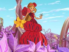 Flourishing|As the fairy of nature, Flora has a strong connection with plants. That's why this flower gown looks so fab on her!