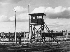 One of the watch towers at Stalag Luft 3, Sagan.