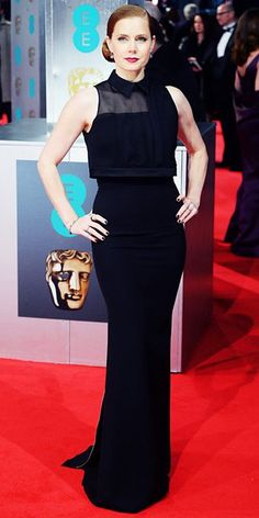 2014 BAFTAs Red Carpet - Amy Adams from #InStyle
