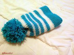 Caciulta bleu Knitted Hats, Beanie, Knitting, Fashion, Blue, Moda, Tricot, Fashion Styles, Breien