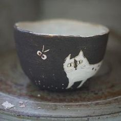 Cat cup by casandra