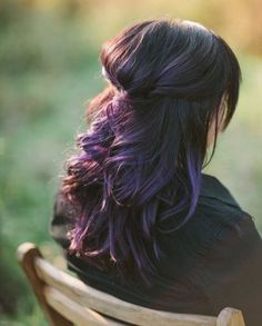 Gorgeous Dark Purple Omber Hairstyles | Full Dose