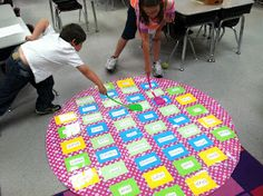 Another pinner says: Cute center ideas to keep kids interested til the end of the school year.