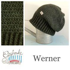 Tunella's Geschenkeallerlei präsentiert: das ist Werner, eine geniale gehäkelte Haube/Mütze aus einer Alpaka/Wolle/Acryl-Mischung - du kannst dich warm anziehen, dank sorgfältigem Entwurf, liebevoller Handarbeit und deinem fantastischen Geschmack wirst du umwerfend aussehen #TunellasGeschenkeallerlei #Häkelei #drumherum #Beanie #Pudelhaube #Haube #Mütze #Alpaka #Wolle #Werner