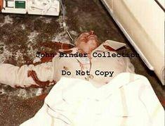 Allen Dorfman crime scene. PLEASE DO NOT COPY. (Photos compliments of John Binder.)