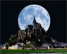 Mon Saint Michel, Normandía, Francia