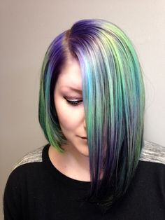 Hair Color How To: Mystical Mermaid by Jordan Glindmyer - AFTER