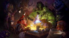 Laurel Austin ldaustin illustrations fantasy games Blizzard Diablo Starcraft World of Warcraft conceptual artist Art And Illustration, Illustrations, World Of Warcraft, Fantasy Kunst, Fantasy Art, Android, Hearthstone Wallpaper, Hearthstone Expansion, Hearthstone Heroes Of Warcraft