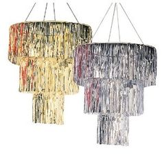 Cheap Chandelier! Could even DIY
