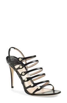 Gucci 'Aneta' Caged Sandal (Women) available at #Nordstrom