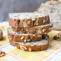 Search no more-this is THE best Banana Nut Bread recipe. Flavorful & moist, hints of cinnamon & nutmeg