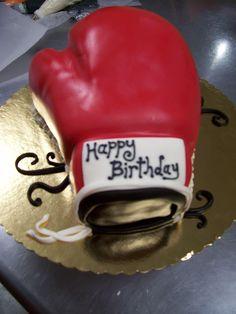 Fantastic De 23 Beste Bildene For Boxing Figures And Cakes Kaker Funny Birthday Cards Online Hendilapandamsfinfo