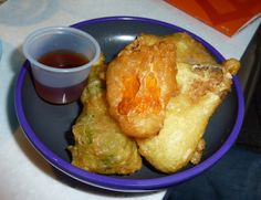 Vegetable tempura from Yo! Sushi