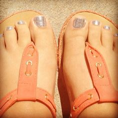 Need this pedi- and these awesome sandals!  http://cjfreeman.jamberrynails.net/