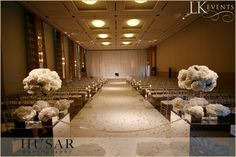 Stunningly elegant white detailed wedding at The Chicago Peninsula. Photos by Husar Photography
